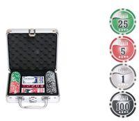"""Набор для покера """"NUTS"""" (100 фишек)"""