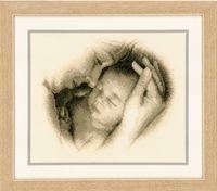 """Вышивка крестом """"Мать и дитя"""" (260х210 мм; арт. 0012175-PN)"""
