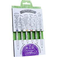 """Набор для выращивания растений """"Растущий карандаш. Салатный микс"""" (цветные; 6 шт.)"""