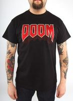 """Футболка """"Doom - Classic Logo""""  (размер - XL)"""