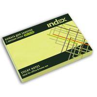 Бумага для заметок (желтый; 105х75 мм)