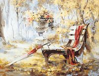 "Картина по номерам ""Осень в парке"" (400х500 мм)"