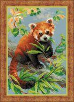 """Вышивка крестом """"Красная панда"""" (210х300 мм)"""
