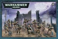 Warhammer 40.000. Astra Militarum. Cadian Infantry Squad (47-17)