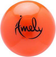 Мяч для художественной гимнастики AGB-201 (19 см; оранжевый)