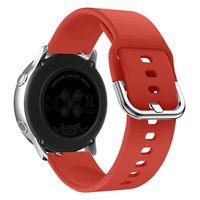 Универсальный ремешок для смарт-часов DSJ-04 (красный)