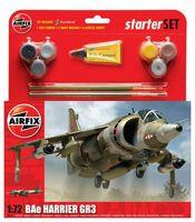 """Начальный набор """"Истребитель-бомбардировщик  BAe Harrier GR3"""" (масштаб: 1/72)"""