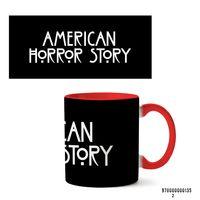 """Кружка """"Американская история ужасов"""" (арт. 135, красная)"""