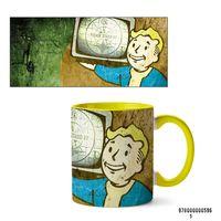 """Кружка """"Fallout"""" (желтая)"""