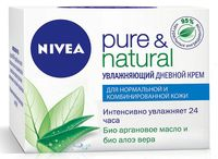 "Дневной крем для лица ""Pure and Natural. Увлажняющий"" (50 мл)"