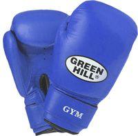 Перчатки боксёрские GYM BGG-2018 (10 унций; синие)
