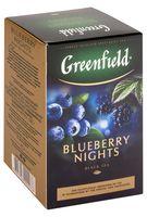 """Чай черный листовой """"Greenfield. Blueberry Nights"""" (100 г)"""