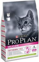 "Корм сухой для кошек ""Delicate"" (1,5 кг; ягненок)"