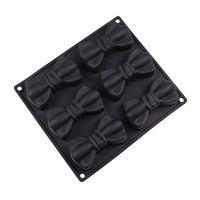 """Форма силиконовая для выпекания """"Бантики"""" (235х204х37 мм)"""