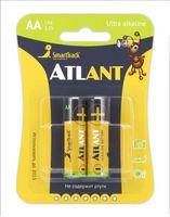 Батарейка AA LR06 SmartTrack Atlant алкалайновая (2 шт)