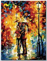 "Картина по номерам ""Под дождем"" (300x400 мм; арт. HB3040087)"
