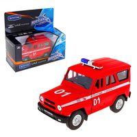 """Модель машины """"УАЗ Хантер. Пожарная охрана"""" (масштаб: 1/36)"""
