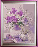 "Картина по номерам ""Нежный букет"" (400х500 мм; арт. G410)"