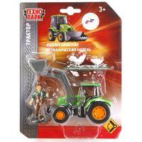 """Игровой набор """"Трактор с фигуркой"""" (арт. U1407B-1)"""