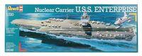 """Сборная модель """"Атомный ударный авианосец U.S.S. Enterprise"""" (масштаб: 1/720)"""