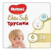 """Подгузники-трусики """"Huggies Elite Soft Mega 6"""" (16-22 кг; 28 шт.)"""