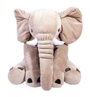 """Мягкая игрушка """"Слон Элвис"""" (46 см; серый)"""