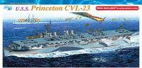 """Авианосец """"U.S.S. Princeton CVL-23"""" (масштаб: 1/350)"""