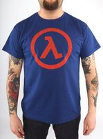 "Футболка ""Half Life - Logo Lambda"" (размер - S)"