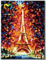 """Картина по номерам """"Эйфелева башня"""" (300x400 мм; арт. HB3040089)"""