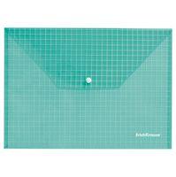 "Папка-конверт ""Envelope Folder"" (А4; прозрачная; зеленая)"
