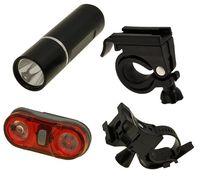"""Комплект освещения для велосипеда """"HW JY-246-3W + JY-596"""""""