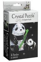"""Пазл """"3D. Две панды"""" (51 элемент)"""