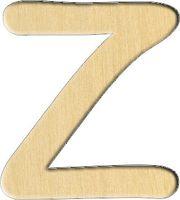 """Заготовка деревянная """"Английский алфавит. Буква Z"""" (63х70 мм)"""