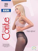"""Колготки женские классические """"Conte. Bikini 20"""""""