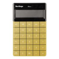 Калькулятор настольный (12 разрядов; золотой)