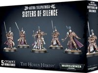 Warhammer 40.000. Astra Telepathica. Sisters of Silence (01-08)