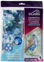 """Салфетка для уборки стекол и зеркал """"Vilardi"""" (400х600 мм)"""