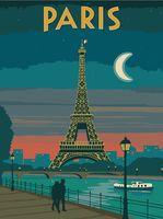 "Картина по номерам ""Париж"" (300х400 мм)"