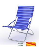 Шезлонг пляжный К206 (цвет: оранж)