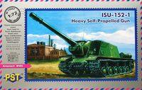 САУ ИСУ-152-1 (масштаб: 1/72)