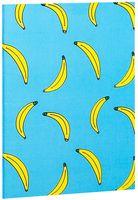 """Блокнот белый """"Бананы"""" А5 (727)"""