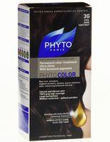 "Краска для волос ""Phytocolor"" (тон: 3G, темный шатен глясе)"