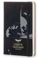 """Ежедневник Молескин """"Batman"""" на 2017 год (большой; твердая черная обложка)"""