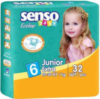 "Подгузники ""Senso baby Ecoline. Junior"" (15-30 кг, 32 шт.)"