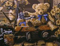 """Картина по номерам """"Детство в прошлом"""" (400x500 мм; арт. MG187)"""