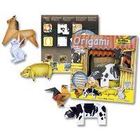 "Бумага цветная для оригами ""Ферма"" (200х200 мм; 12 листов)"