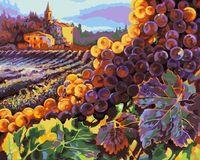"""Картина по номерам """"Тосканский урожай"""" (410х510 мм)"""