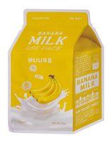 """Тканевая маска для лица """"Banana Milk"""" (21 г)"""