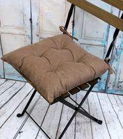 """Подушка на стул """"Velours. Coffee"""" (42х42 см)"""