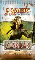 "Бустер из 15 карт ""Magic the Gathering: Zendikar"" (английская версия)"